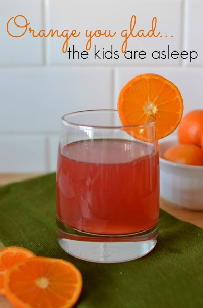 Orange You Glad boozy drink with tequila and citrus