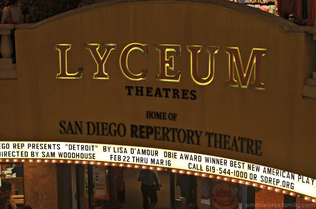 Detroit at the San Diego REP Lyceum Theater