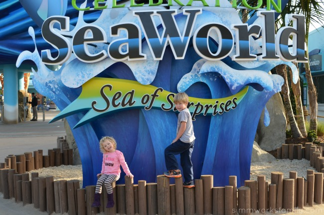 SeaWorld San Diego Explorers Reef entrance sign