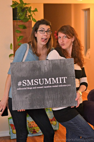 Sunset Millennial Summit chelsea and amy #smsummit