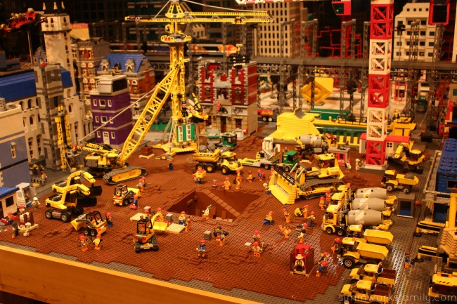 Things to do at Legoland California - The Lego Movie set