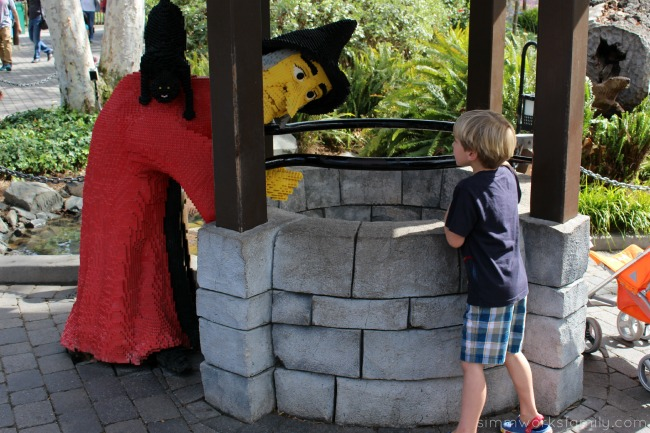 Things to do at Legoland California - explore the paths