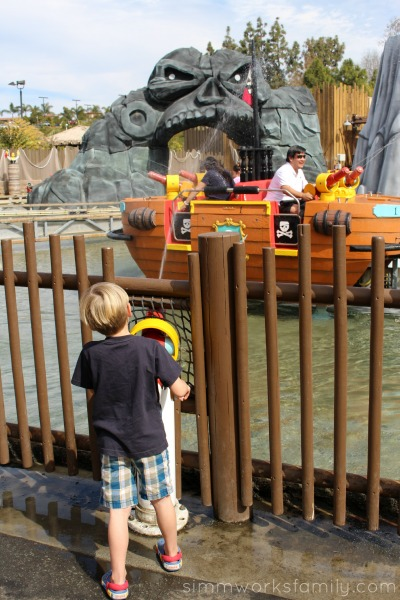 Things to do at Legoland California - get wet or get others wet