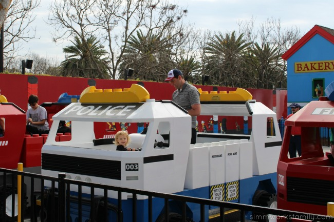 Things to do at Legoland California - play with your little sister