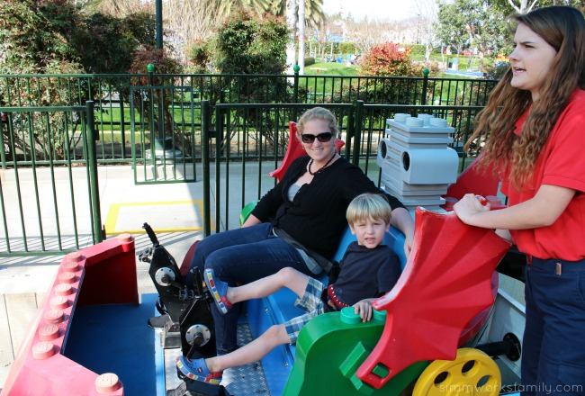 Things to do at Legoland California - ride the sky cruiser