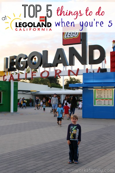 Top 5 Things to Do at Legoland California When You're 5