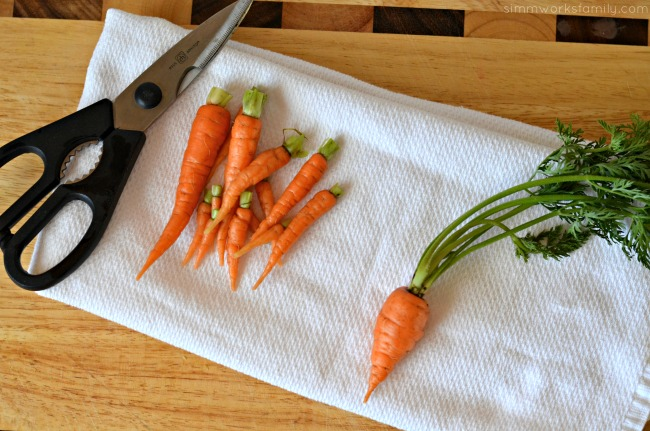 Ways to Cook Carrots clean after you pick them