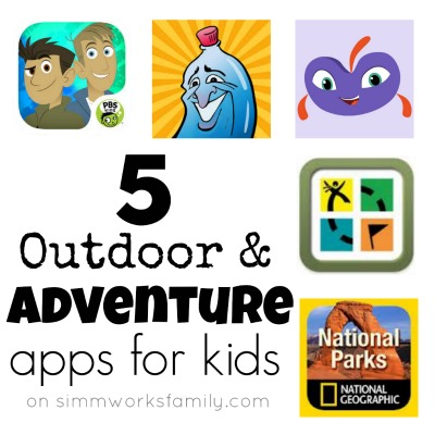 5 Outdoor and Adventure Apps for Kids