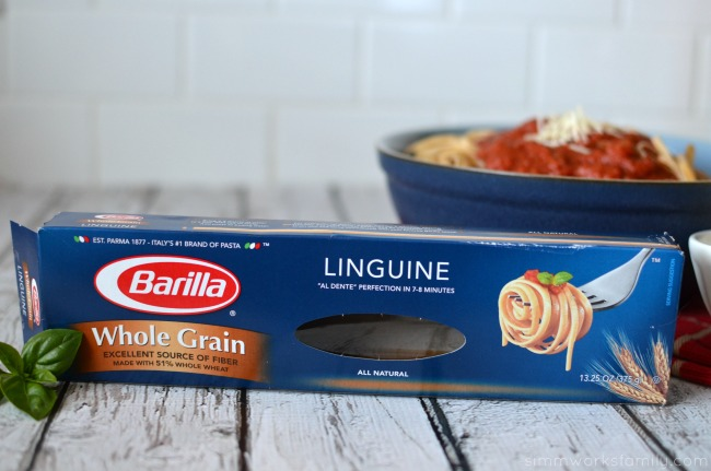 Creating a Family Table at Meal Time with Barilla