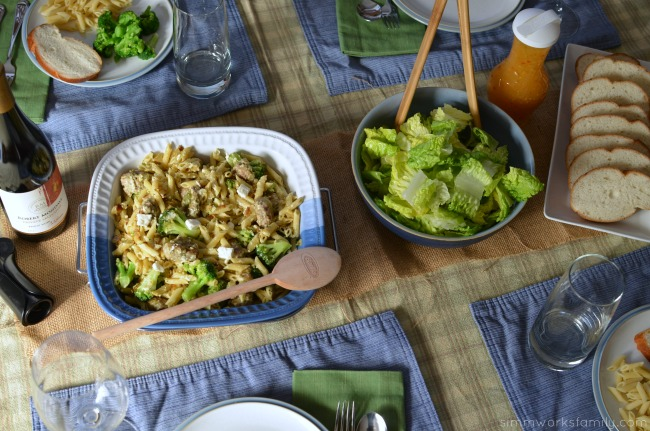 Easy Weeknight Meal with Sausage Broccoli and Feta Pasta Recipe