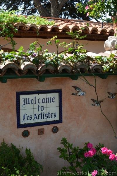 Les Artistes Inn in Del Mar California