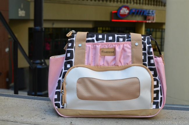 Mother's Day Gift Ideas for Mom - Fivesse bag for the mom on the go