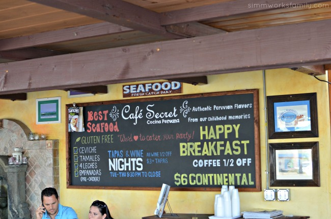 Seaside Wellness Weekend Getaway in Del Mar - Cafe Secret