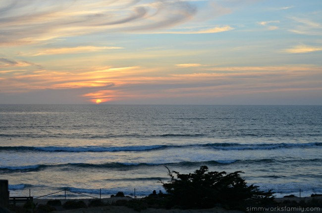 Seaside Wellness Weekend Getaway in Del Mar - sunset over the ocean