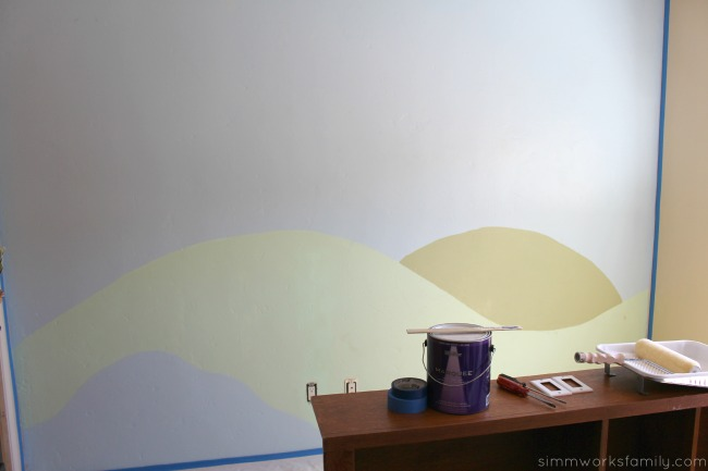 Shared Bedroom Ideas for Brother and Sister - painting walls
