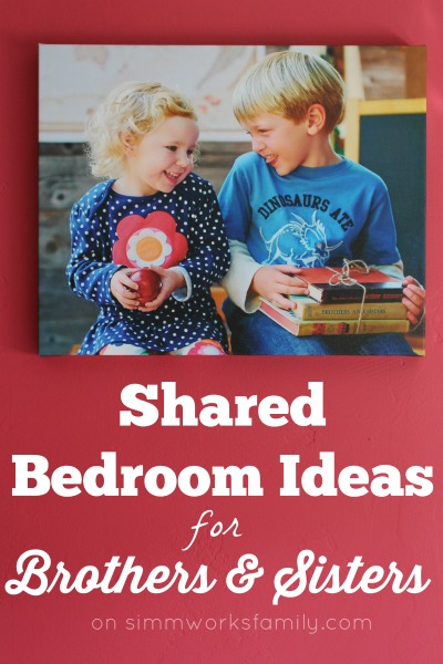 Shared Bedroom Ideas For Brother And Sister A Crafty Spoonful