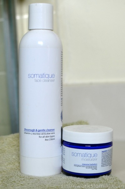 mother's day gift ideas - somatique cleanser and moisturizer