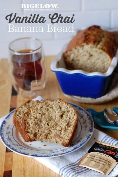 Bigelow Vanilla Chai Banana Bread The Perfect Mommy Time Out Snack