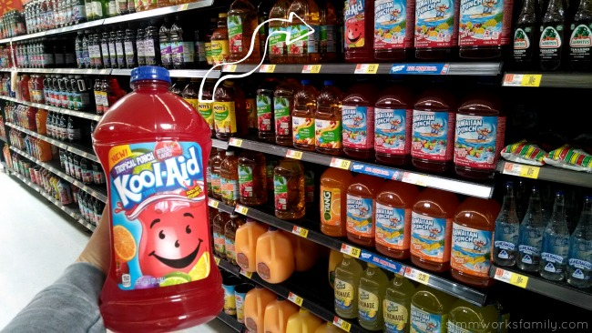 DIY Fruit Juice Dyed Watermelon Windsock Koolaid in Juice aisle