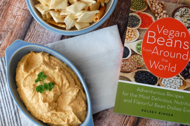 Hummus Without Tahini from Vegan Beans from Around the World