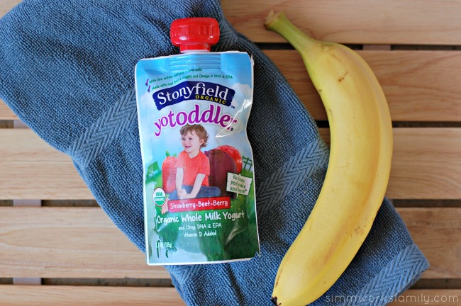 On-The-Go Breakfast Ideas for Busy Mornings stonyfield organic yotoddler yogurt pouches