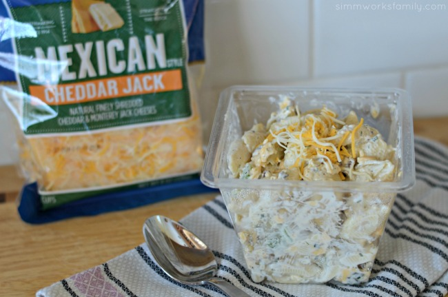 Bacon Cheddar Ranch Pasta Salad - perfect for BBQs