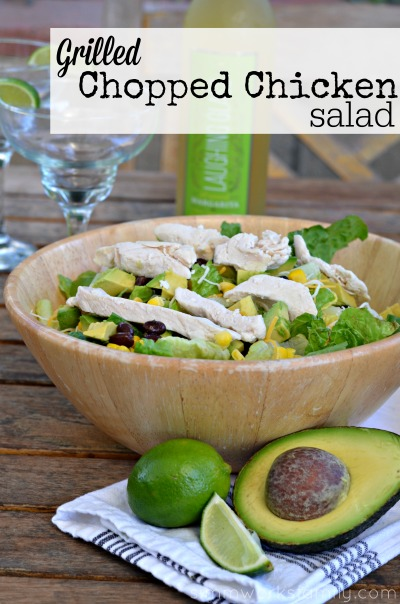 Easy Summer Dinners Kraft Chopped Grilled Chicken Salad