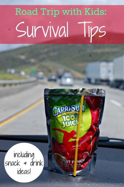 Road Trip with Kids Survival Tips #CapriSunMomFactor