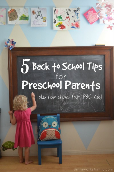 5 back to school tips for preschool parents