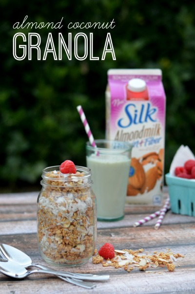 Almond Coconut Granola Recipe