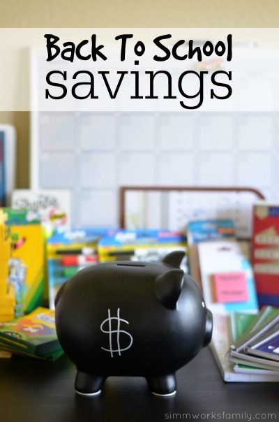 Back to School Savings with Walmart Savings Catcher #SavingsCatcher