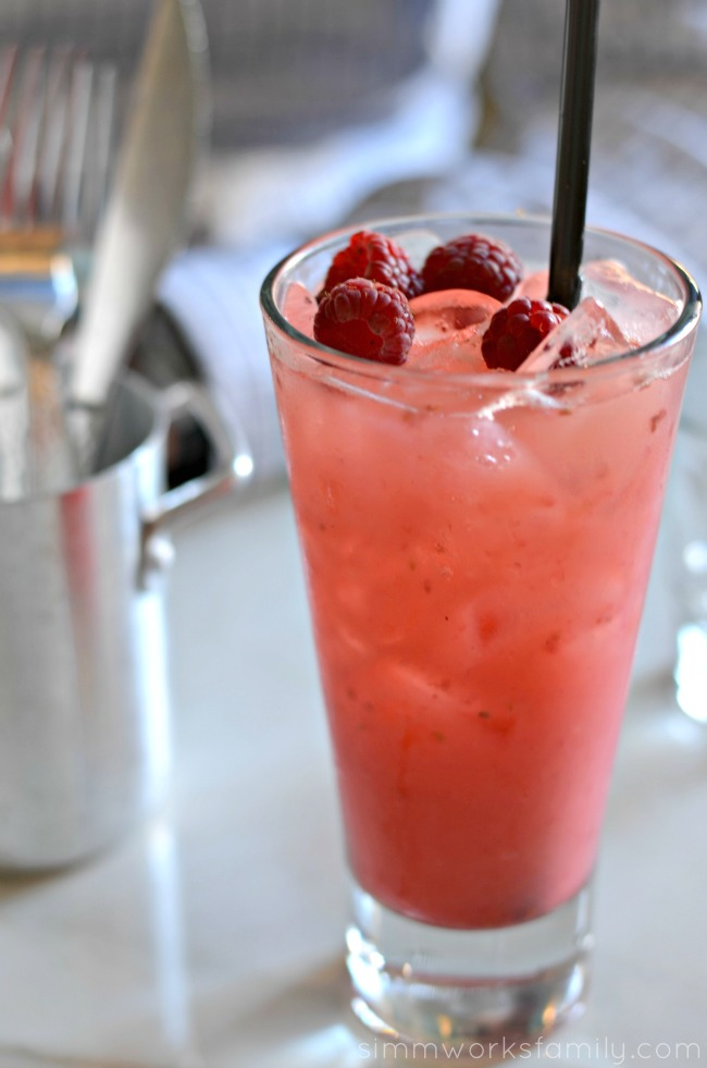 Cafe 21 San Diego - Raspberry Lemonade