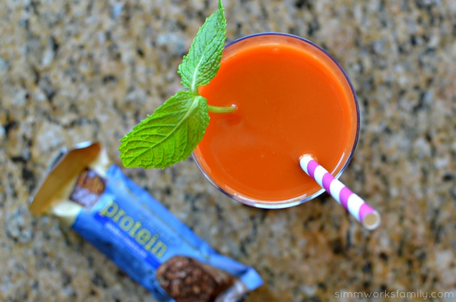 Great After Workout Snacks - Carrot Tangerine Juice Recipe