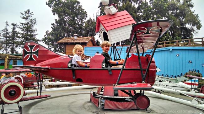 Knotts Berry Farm Flying Ace