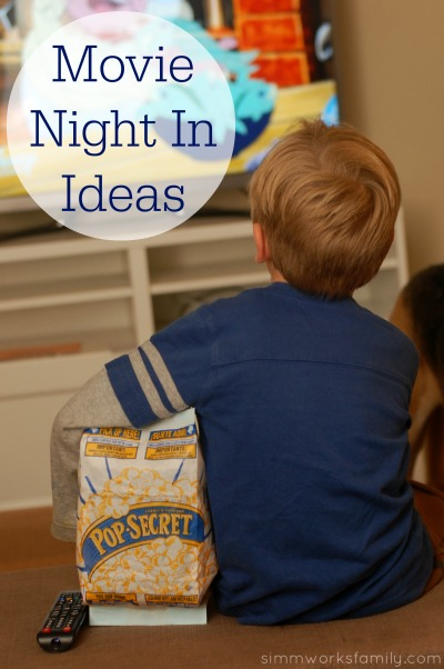 Movie Night In Ideas Made Easy with PopSecret