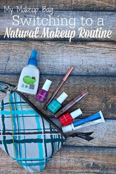 My Makeup Bag - Switching to a Natural Makeup Routine