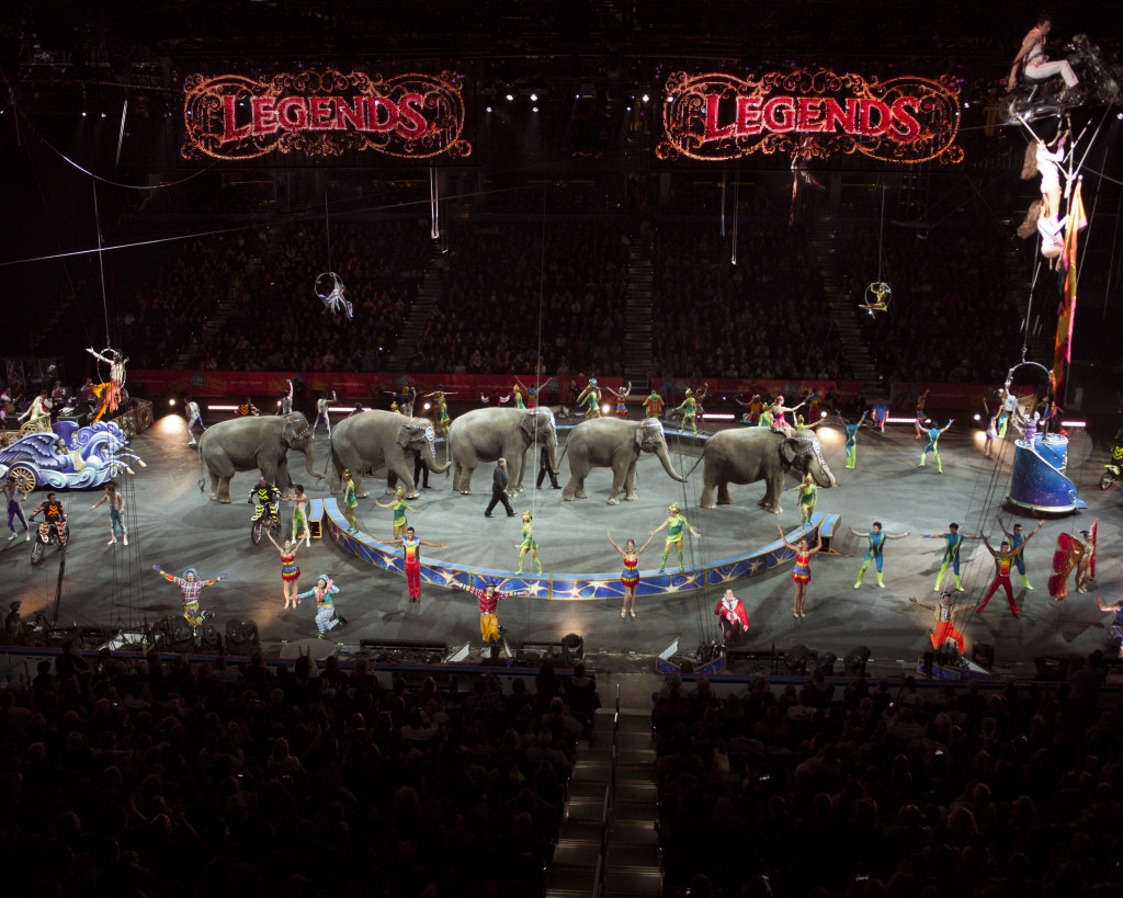 Ringling Bros and Barnum and Bailey Legends show