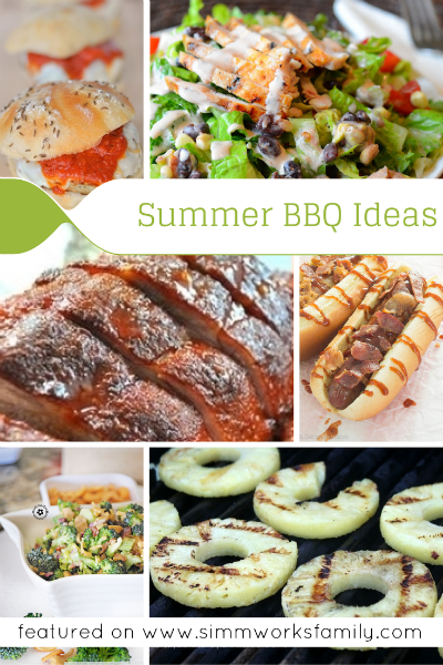 Summer BBQ Ideas - great additions to any summer bbq or party