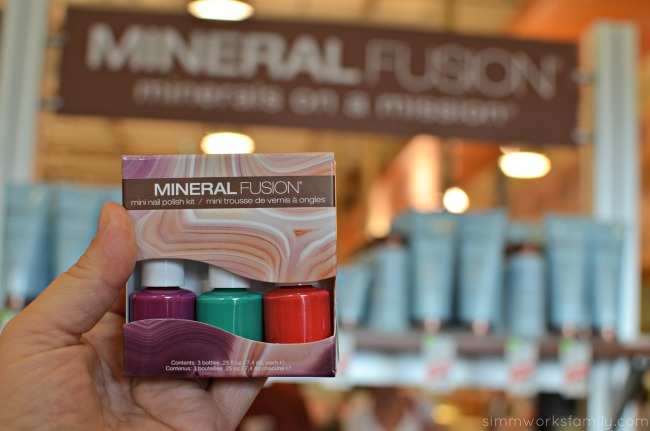 Switching to a Natural Makeup Routine - Mineral Fusion nail polish