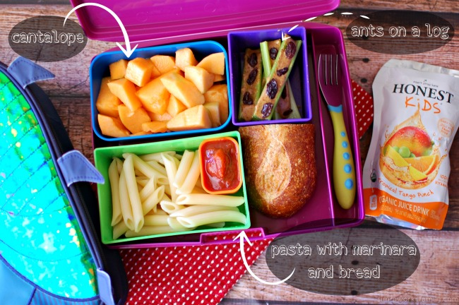 Healthy Back to School Lunch Tips - dips