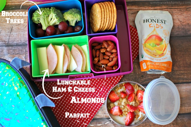 Healthy Back to School Lunch Tips - parfaits
