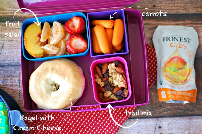 Healthy Back to School Lunch Tips - trail mix