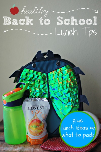 Healthy Back to School Lunch Tips