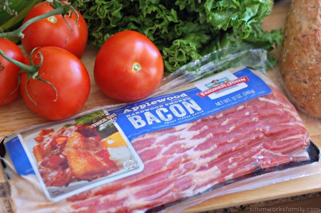 Ultimate BLT Sandwich - bacon