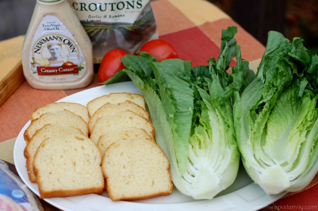 Easy Dinner Ideas On The Grill pound cake and romaine