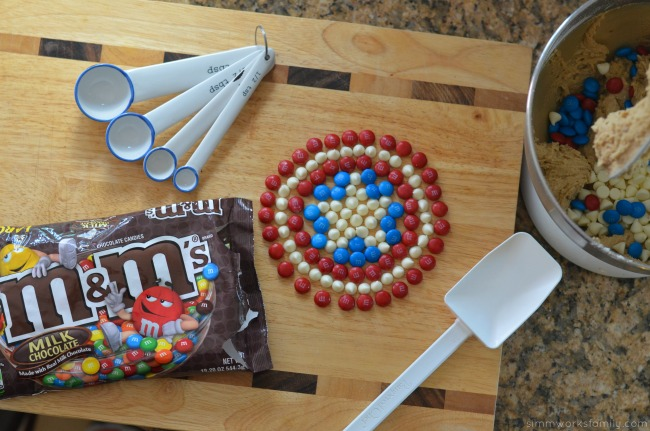 Family Movie Night Snack Recipes - captain america shield