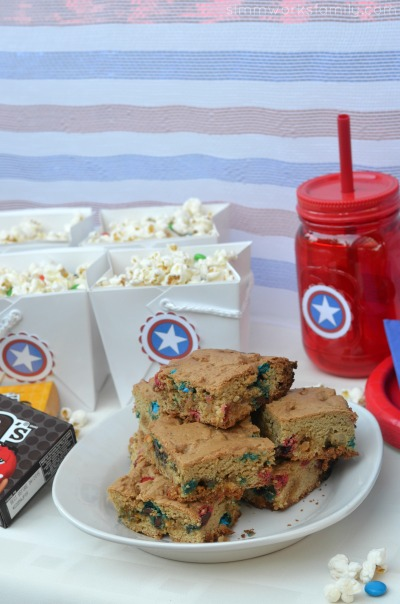 Family Movie Night Snack Recipes - monster m&ms cookies