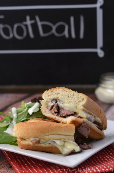 Grilled Steak Sandwich with Garlic Aioli Recipe for lunch