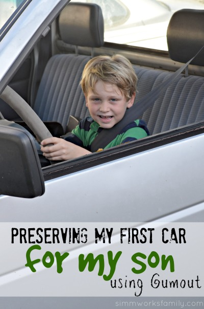 Preserving My First Car For My Son with Gumout #WalmartAuto