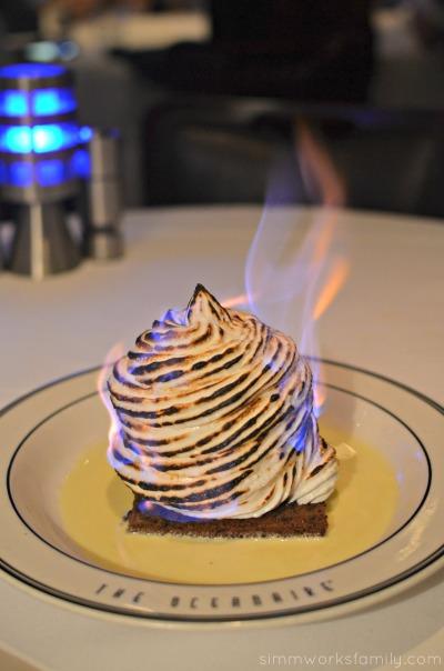 San Diego Restaurant Week - Oceanaire Seafood Room Review baked alaska
